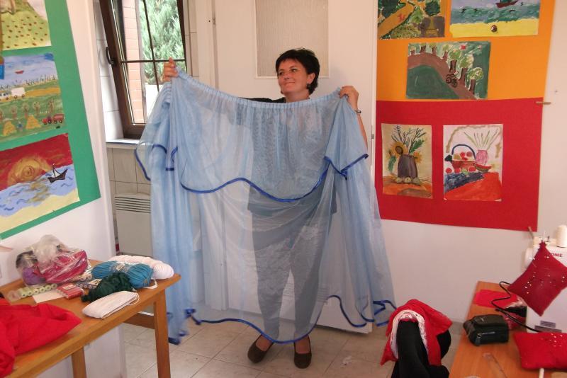 Kurs kroju i szycia w ramach projektu